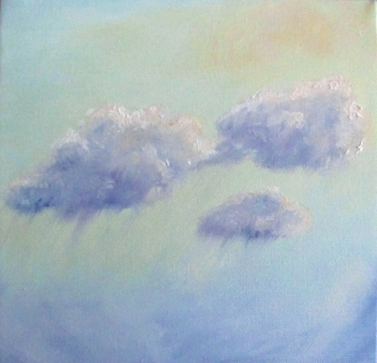Skyscape Landscape Oil painting joyce brandon