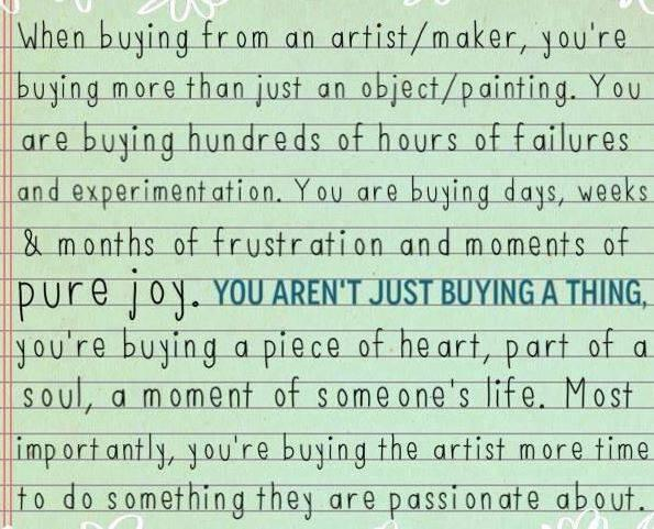 You Are Buying More Than Art