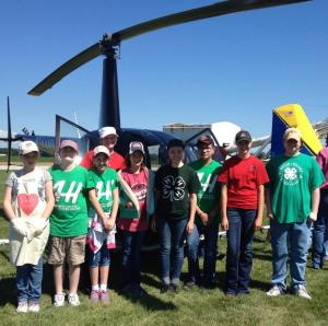 Just one of our 4-H activities this summer.  Serving at the Monmouth Fly-in Breakfast on the 4th of July.